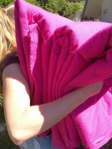 luci-and-pink-fabric