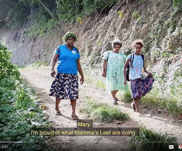 Women Walking In Futuna